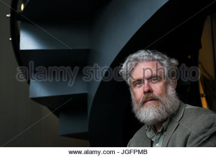 Portrait of Dr. George Church, initiator of The Human Genome Project, at Harvard University. - Stock Photo