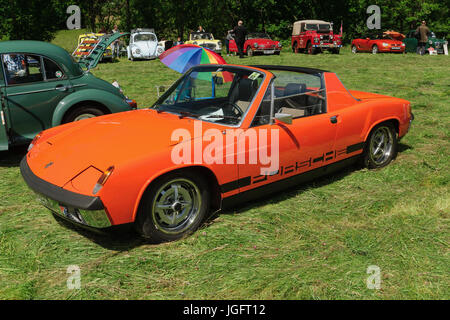 old convertible porsche classic car stock photo royalty free image 29878941 alamy. Black Bedroom Furniture Sets. Home Design Ideas