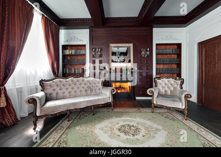 Victorian rich background with antique luxury beige and for Mobilia domestica