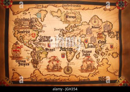 world map black grey Stock Photo 115069773 Alamy