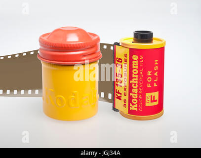1940's Kodachrome Type F - Stock Photo