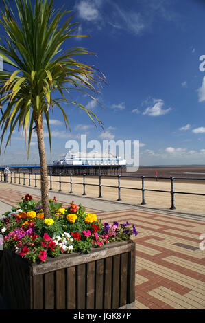 Lincolnshire coastline, cleethorpes - Stock Photo