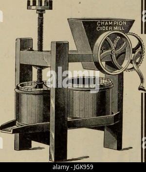 Hardware merchandising August-October 1912 - Stock Photo