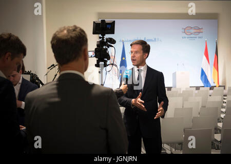 Dutch Prime Minister Mark Rutte during a press conference at the conclusion of the two day G20 Summit meeting of - Stock Photo