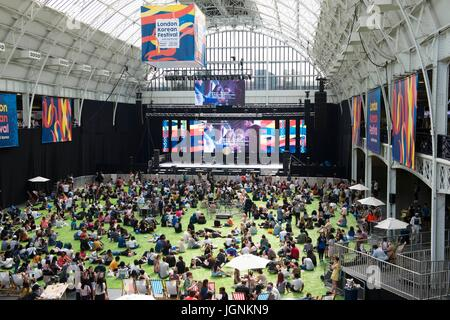 London, UK. 08th July, 2017. London Korean Festival 2017. London, UK. 08/07/2017 | usage worldwide Credit: dpa/Alamy - Stock Photo