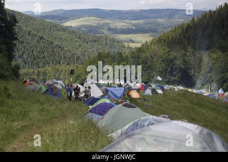 Shypit, Ukraine. 9th July, 2017. Festival Shypot 2017 Credit: Nazar Furyk/ZUMA Wire/Alamy Live News - Stock Photo