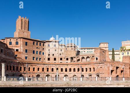 Archbasilica of St. John Lateran (Arcibasilica Papale di San Giovanni in Laterano), Rome, Lazio, Italy - Stock Photo