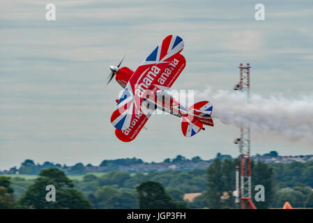 Pitts Special S-2S at the 2017 Yeovilton Air Day. - Stock Photo