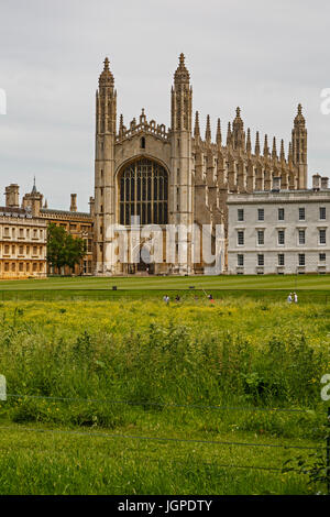 King's College, Cambridge, Cambridgeshire, England, United Kingdom - Stock Photo