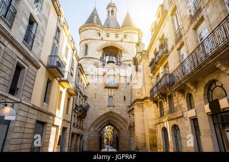 Bordeaux city in France - Stock Photo