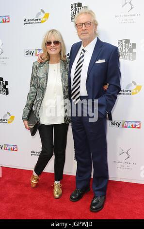 London, UK. 9th Jul, 2017. Twiggy, South Bank Sky Arts Awards, The Savoy, London, UK. 09th July, 2017. Photo by - Stock Photo