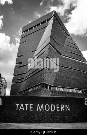 The herzog de meuron designed extension will officially for Switch house tate modern architecture