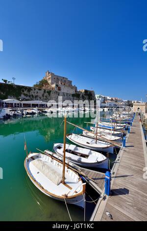 Ciutadella menorca Minorca - Stock Photo