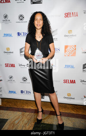 Film director screenwriter Gina Pince-Bythewood attends 6th Annual AAFCA Awards Taglyan Cultural Complex February - Stock Photo