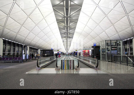 Hong Kong International Airport - Stock Photo