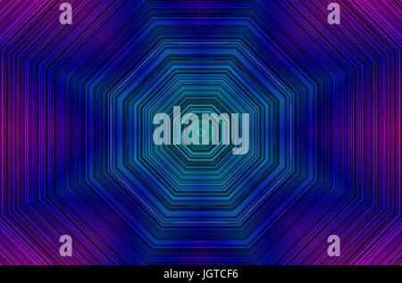 Violet Gradient Lines Shape ,concentric geometry, 5000x 3300 resolution. - Stock Photo