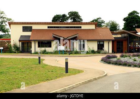 Tapping House, The Norfolk Hospice,  Hillington, Norfolk, England, UK - Stock Photo