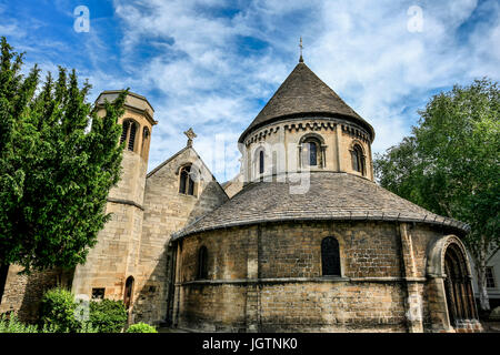 Church of the Holy Sepulchre (The Round Church), Cambridge, Cambridgeshire, England, United Kingdom - Stock Photo