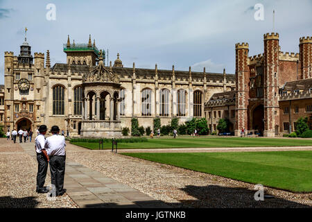 Trinity College, Cambridge, Cambridgeshire, England, United Kingdom - Stock Photo