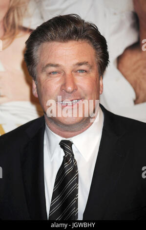 Alec Baldwin at the film premiere of 'It's Complicated' at The Paris Theatre in New York City. December 9, 2009. - Stock Photo