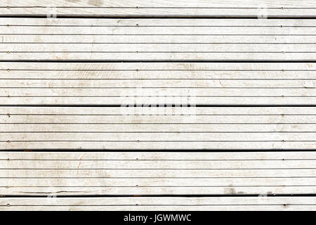 Grey teak wooden floor texture background. - Stock Photo