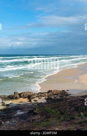 75 mile beach seen from Indian Head. Fraser Island, Queensland, Australia