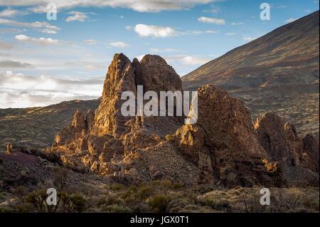 El Teide national reserve, Tenerife - Stock Photo
