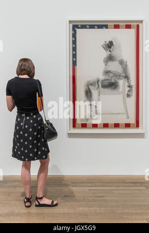 London, UK. 11th Jul, 2017. Injustice Case by David Hammons - Soul of a Nation: Art in the Age of Black Power, Tate - Stock Photo