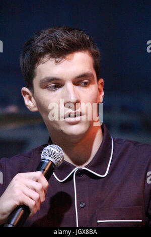 Fionn Whitehead  07/09/2017 'Dunkirk' Press Conference held at the Barker Hangar in Santa Monica, CA   Photo: Cronos/Hollywood - Stock Photo