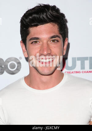 WEST HOLLYWOOD, CA July 11- Al Calderon, At 2017 Outfest Los Angeles LGBT Film Festival Screening of 'Hello Again' - Stock Photo
