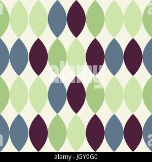 ... Mid Century Modern 1950s Style Vintage Retro Atomic Seamless Background  Pattern. Fully Editable Vector Illustration