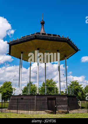 Kensington Gardens Bandstand, Kensington Gardens, London, England - Stock Photo