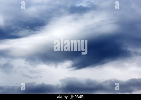 Cloud sky dark moody sky - Stock Photo