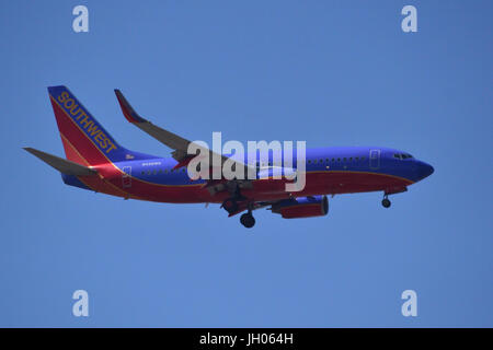 Southwest 737-700 - Stock Photo