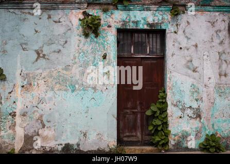 Door in Antigua, Guatemala - Stock Photo