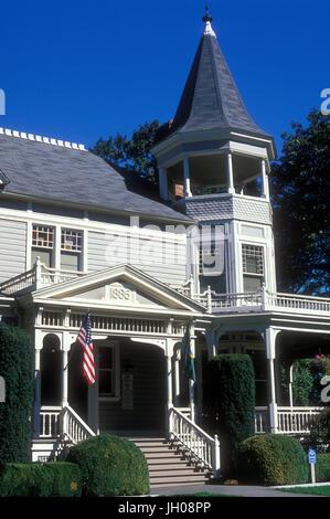 Marshall House, Vancouver National Historic Reserve, Washington - Stock Photo