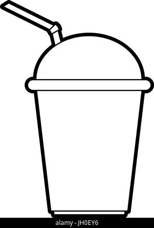 smoothie vector illustration - Stock Photo