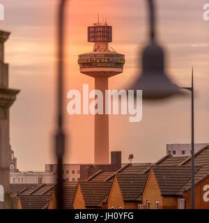 Radio City, St Johns Beacon - Stock Photo