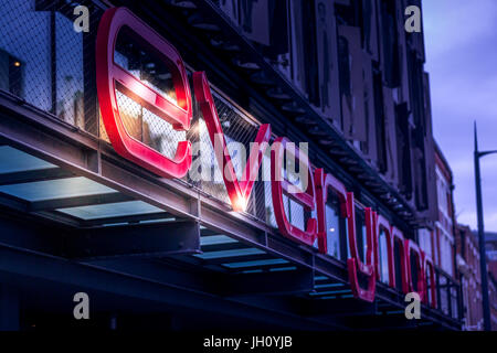 Liverpool Everyman - Stock Photo
