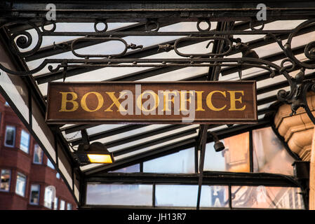 Broadway Box Office Theater Sign In Time Square New York City Stock Photo 310360175 Alamy