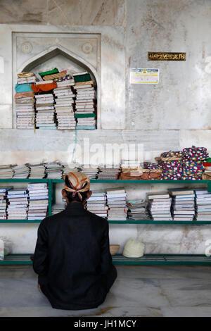 Ajmer Sharif dargah, Rajasthan. Shah Jahan mosque. India. - Stock Photo