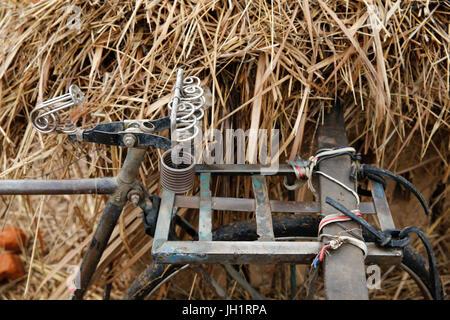 Old bike. Uganda. - Stock Photo