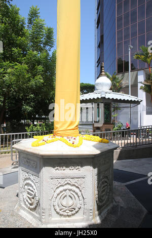 Gurdwara Sahib Silat Road ( Silat Road Sikh Temple ).  Singapore. - Stock Photo