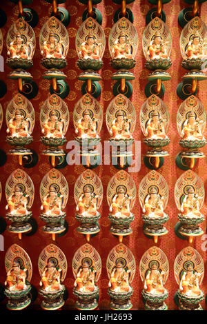 Buddha Tooth Relic Temple in Chinatown. Singapore. - Stock Photo