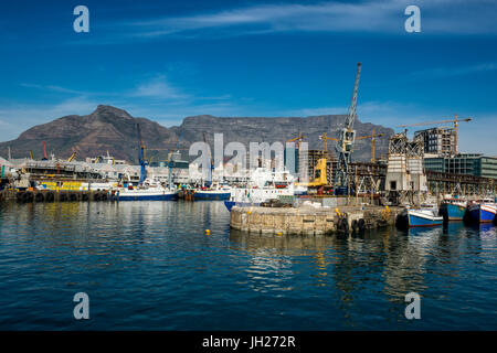 Victoria and Alfred Waterfront, Cape Town, South Africa, Africa - Stock Photo