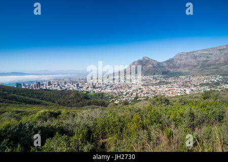 View over Cape Town, South Africa, Africa - Stock Photo
