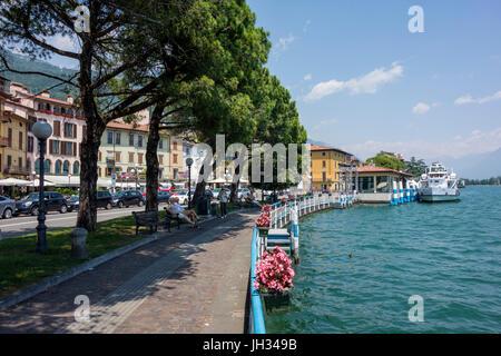 Lovere, Lago Iseo, Italy - Stock Photo