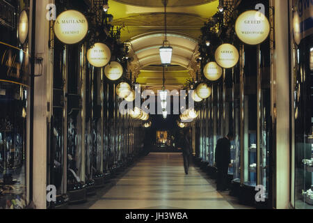 The Piccadilly Arcade, St Jame's, London, England - Stock Photo