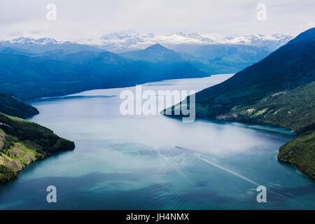 Kanas Lake,Xinjiang,China - Stock Photo