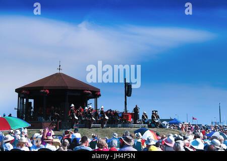 Walmer Bandstand Memorial Concert 2017 - Stock Photo